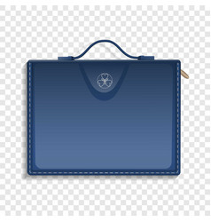 hand case icon realistic style vector image