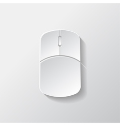 Mouse web icon vector image