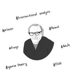 Portrait eric lennard berne key concepts in th vector