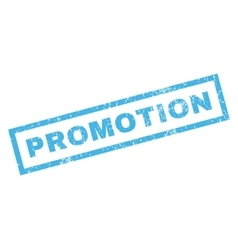 Promotion Rubber Stamp vector