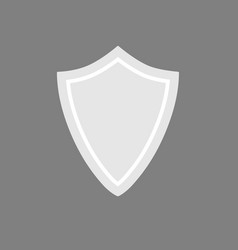 security assurance guard shield icon isolated vector image