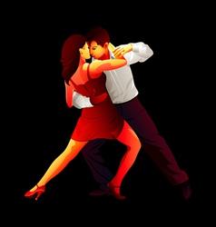 Tango lovers vector