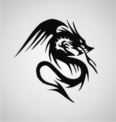 Tribal Flying Dragon vector