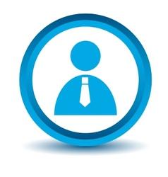 Blue man icon vector image vector image