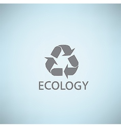 Ecology themed abstract background concept EPS10 vector image vector image