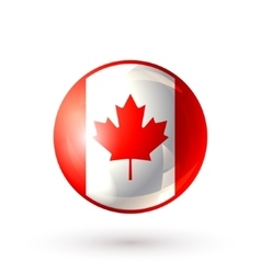 Canada icon isolated vector image vector image