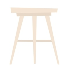 Chair isolated vector image