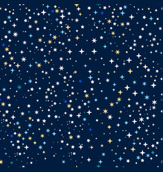 space stars background vector image