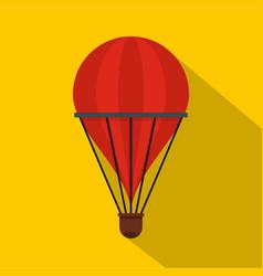 aerostat icon flat style vector image