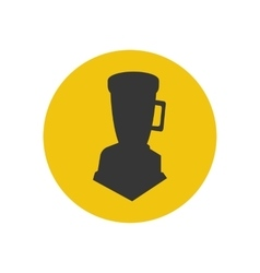 Blender silhouette icon vector image