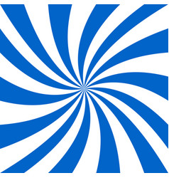 blue and white spiral background - design vector image