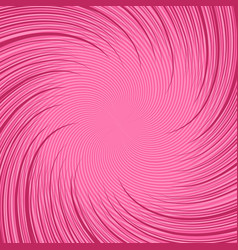 Comic pink twisted background vector