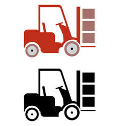 lifter icons vector image