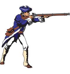 Patriot logo mascot vector