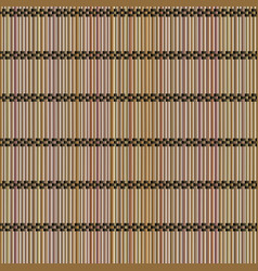 Seamless background mat of bamboo vector