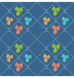 Seamless geometric childrens pattern Diagonal vector image