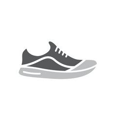 shoes design template isolated vector image