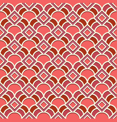Simple geometric pattern vector