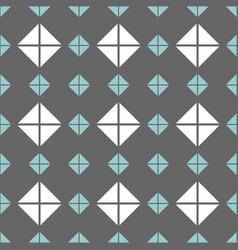 tile pattern with grey blue and white background vector image