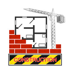 construction and architecture symbol vector image