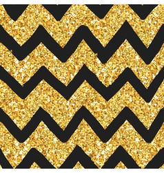 Glitter Golden Pattern - Seamless Background vector image vector image