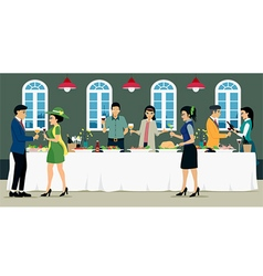 Catering vector image
