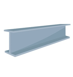 Construction steel beam vector
