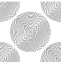 Design seamless monochrome circle background vector
