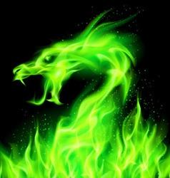 Dragon Fair Green 01 vector image