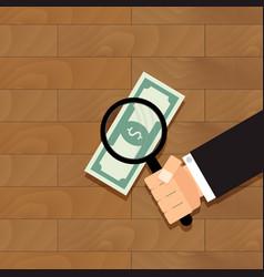 Find money concept vector