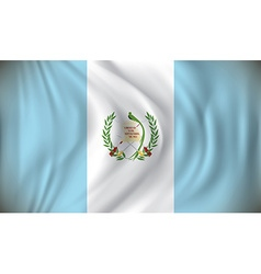Flag of Guatemala vector image