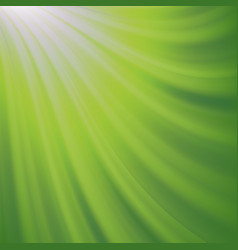 green blurred background abstract glowing pattern vector image