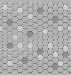 honeycomb hexagon seamless pattern for backgrounds vector image