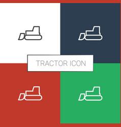Icon white background vector