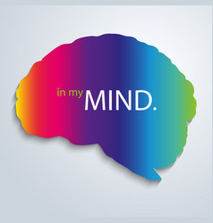 In my mind vector