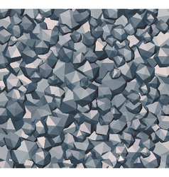 Stone wall floor surface vector