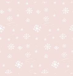 winter seamless pattern texture vector image