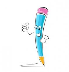 successful pencil vector image