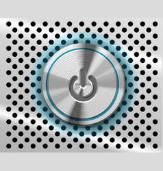 mac power button vector image vector image