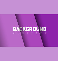 Background design with soaring purple paper vector