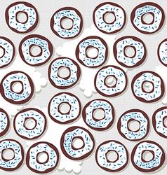 Donutswithbluesprinklessp vector
