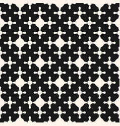 Geometric seamless pattern with crossed shapes vector