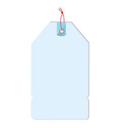 isolated empty label vector image