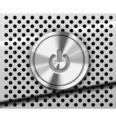 mac power button vector image