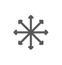 Navigation traffic compass flexibility line vector