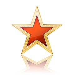 simple star vector image