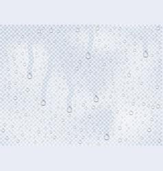 Water drops overlay vector