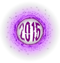2015 Fireworks vector image vector image