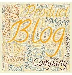 JP business blogs text background wordcloud vector image vector image