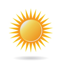 Power Sun Logo vector image
